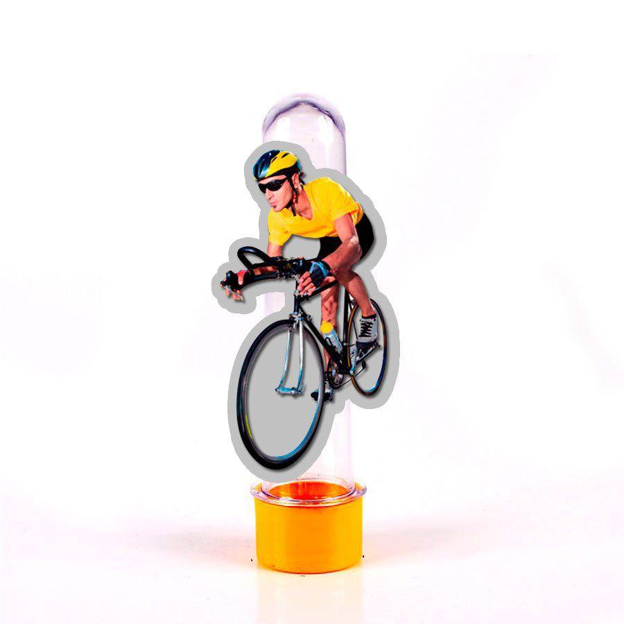 Lembrancinha Tubete Ciclismo Homem