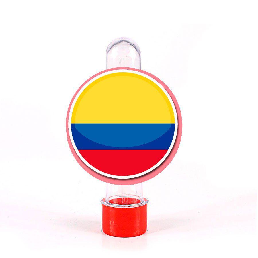 Lembrancinha Tubete Colômbia Cores
