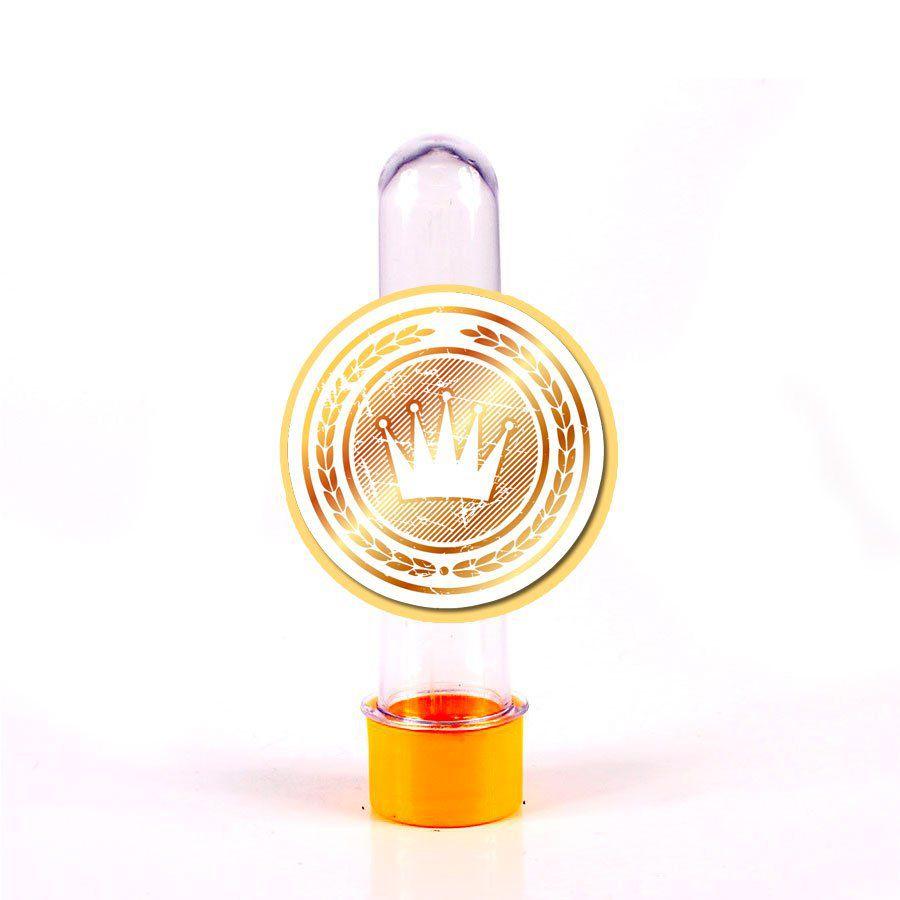 Lembrancinha Tubete Emblema Realeza