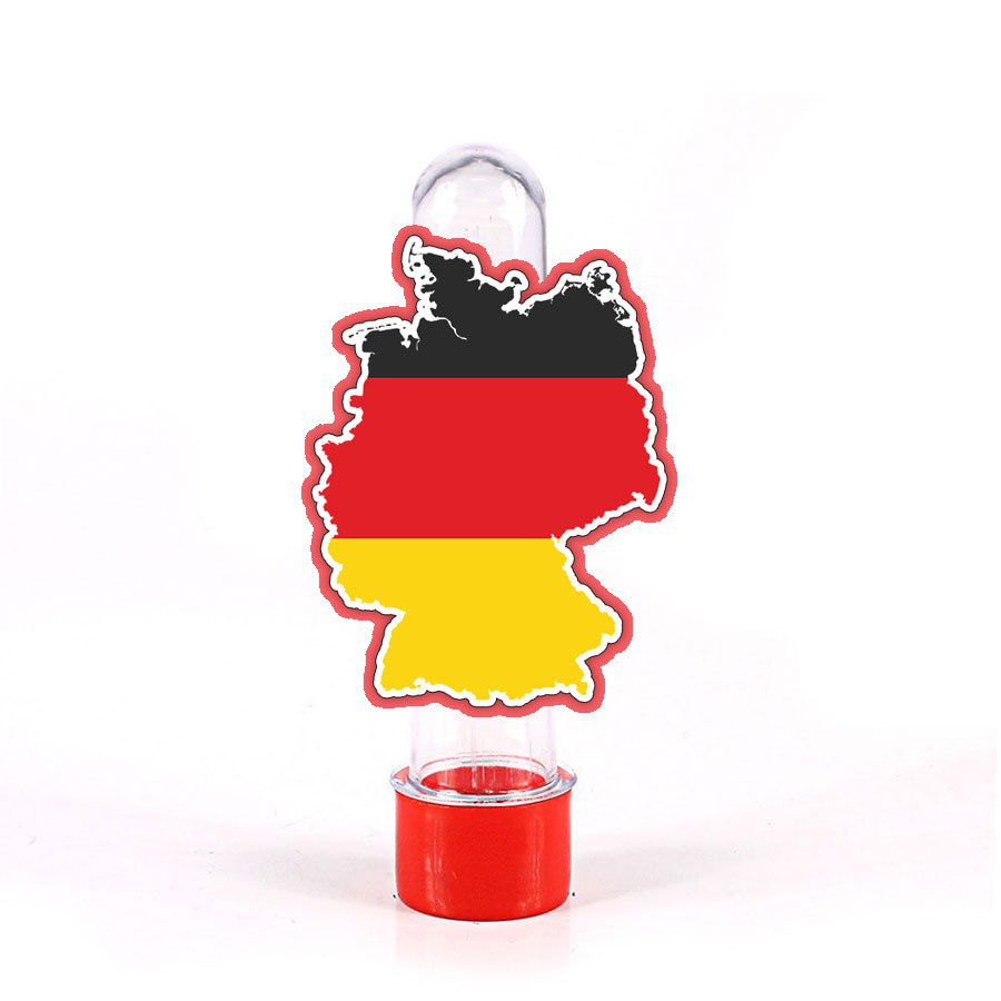 Lembrancinha Tubete Mapa da Alemanha
