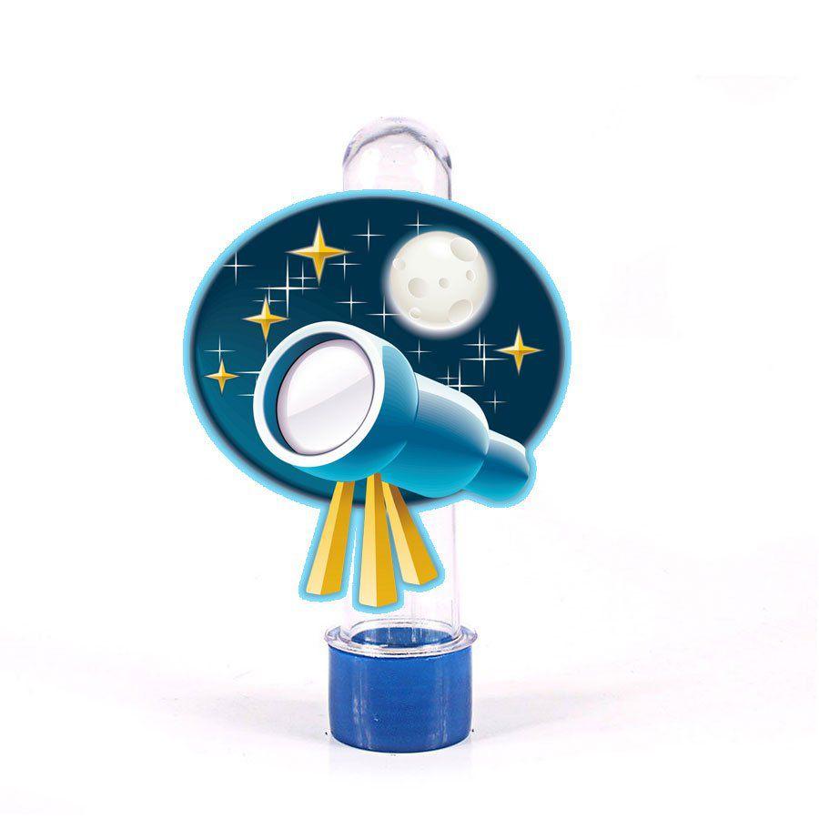 Lembrancinha Tubete Personagem Astrônomo Luneta
