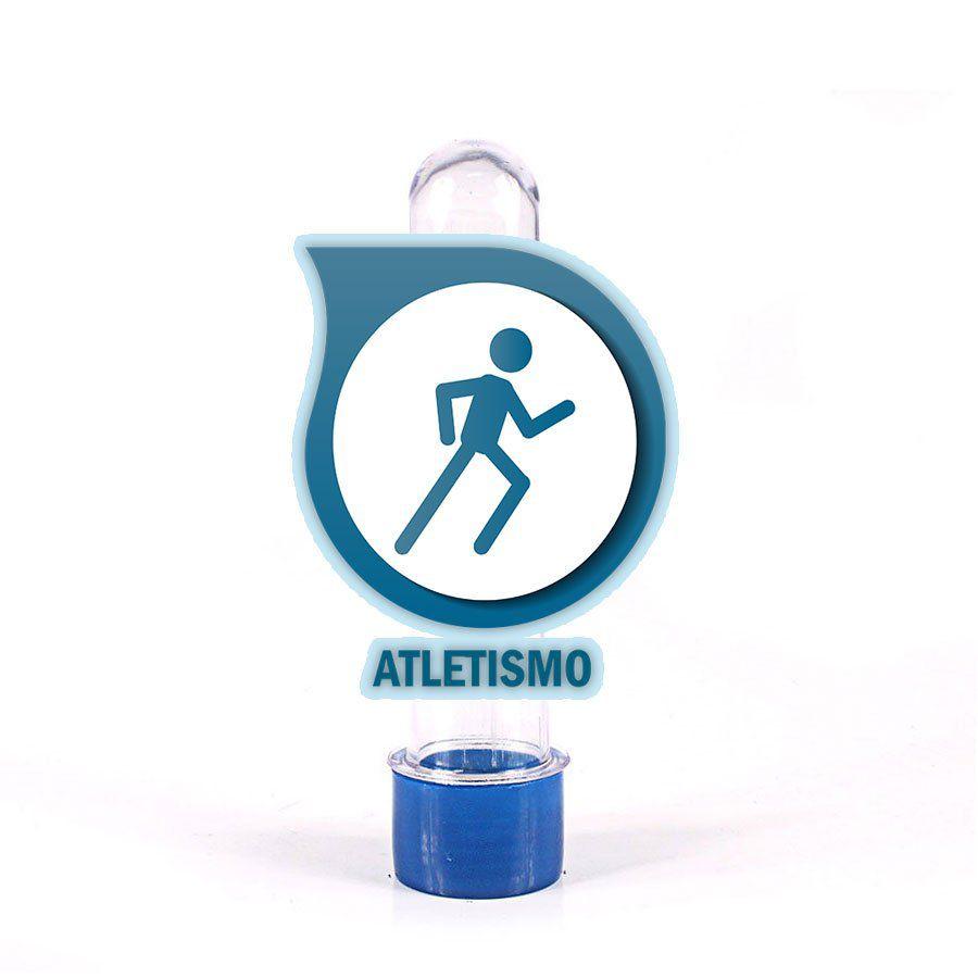 Tubete 3D Atletismo para Lembrancinha
