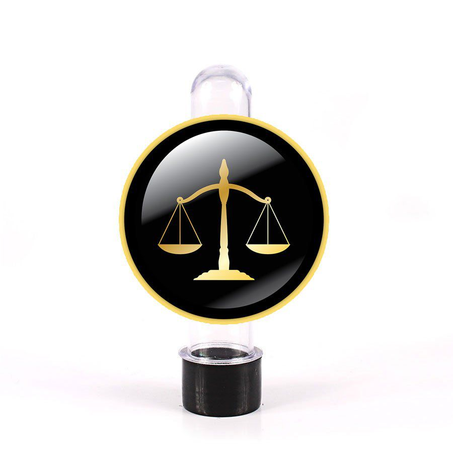 Tubete 3D Balança do Direito para Lembrancinha