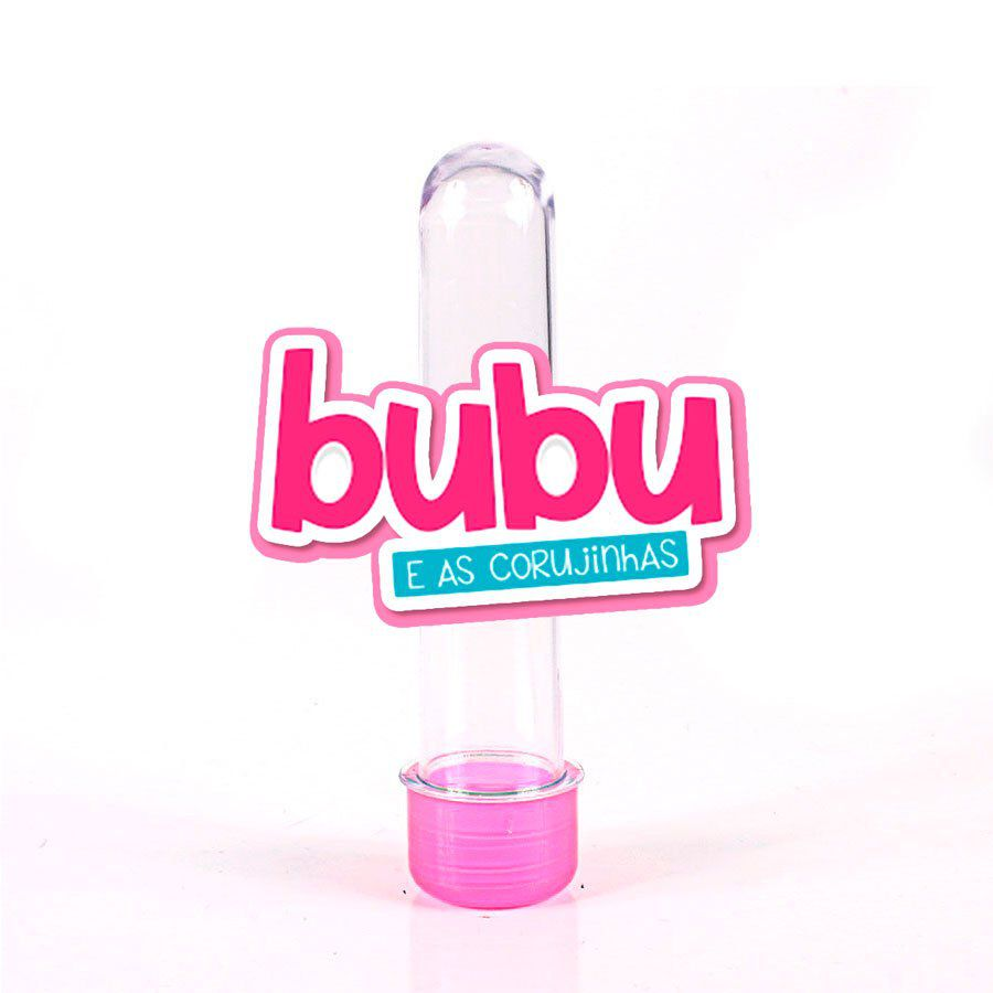 Lembrancinha Tubete Personagem Bubu Logo