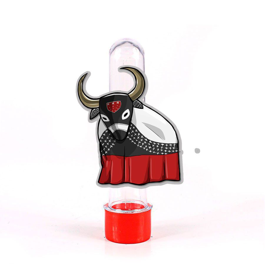 Lembrancinha Tubete Personagem Bumba meu Boi Caprichoso
