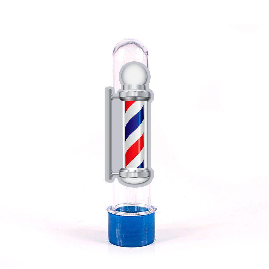 Lembrancinha Tubete Personagem Cabeleireiro Barber's Pole