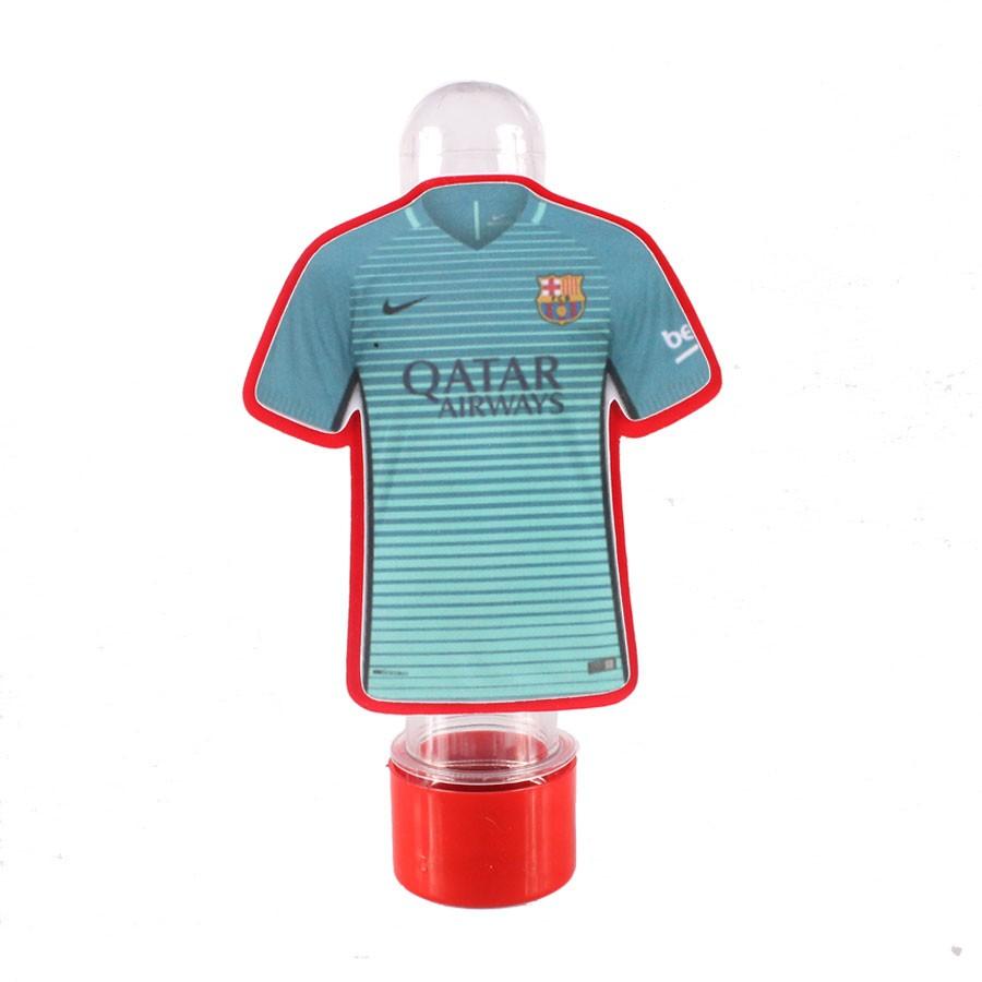 d94dc5a4fb Lembrancinha Tubete Personagem Camisa Barcelona Azul Verde - Aluá Festas
