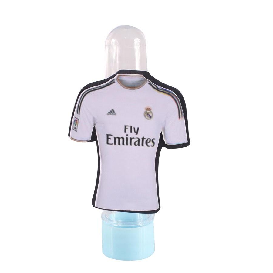 ae21a34334 Lembrancinha Tubete Personagem Camisa Uniforme Real Madrid - Aluá Festas