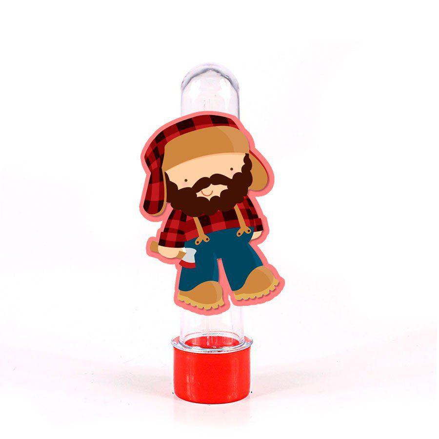 Lembrancinha Tubete Personagem Chapeuzinho Vermelho Caçador