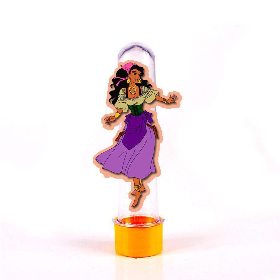 Lembrancinha Tubete Personagem Cigano Dança