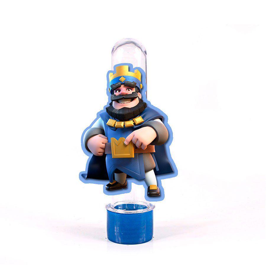 Lembrancinha Tubete Personagem Clash Royale Rei