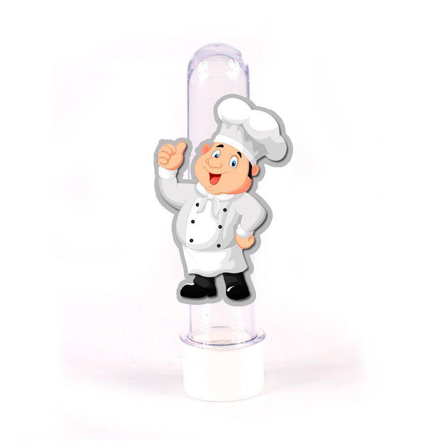 Lembrancinha Tubete Personagem Cozinheiro