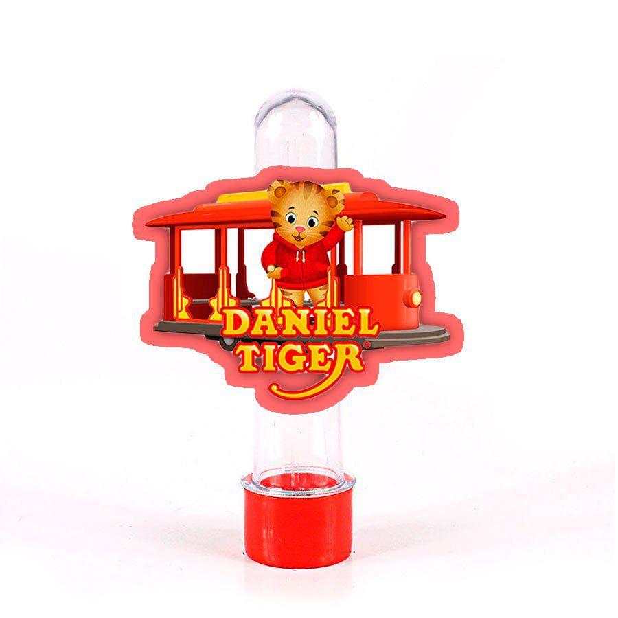 Lembrancinha Tubete Personagem Daniel Tigre Logo