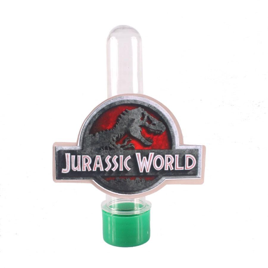 Lembrancinha Tubete Personagem Dinossauros Jurassic World