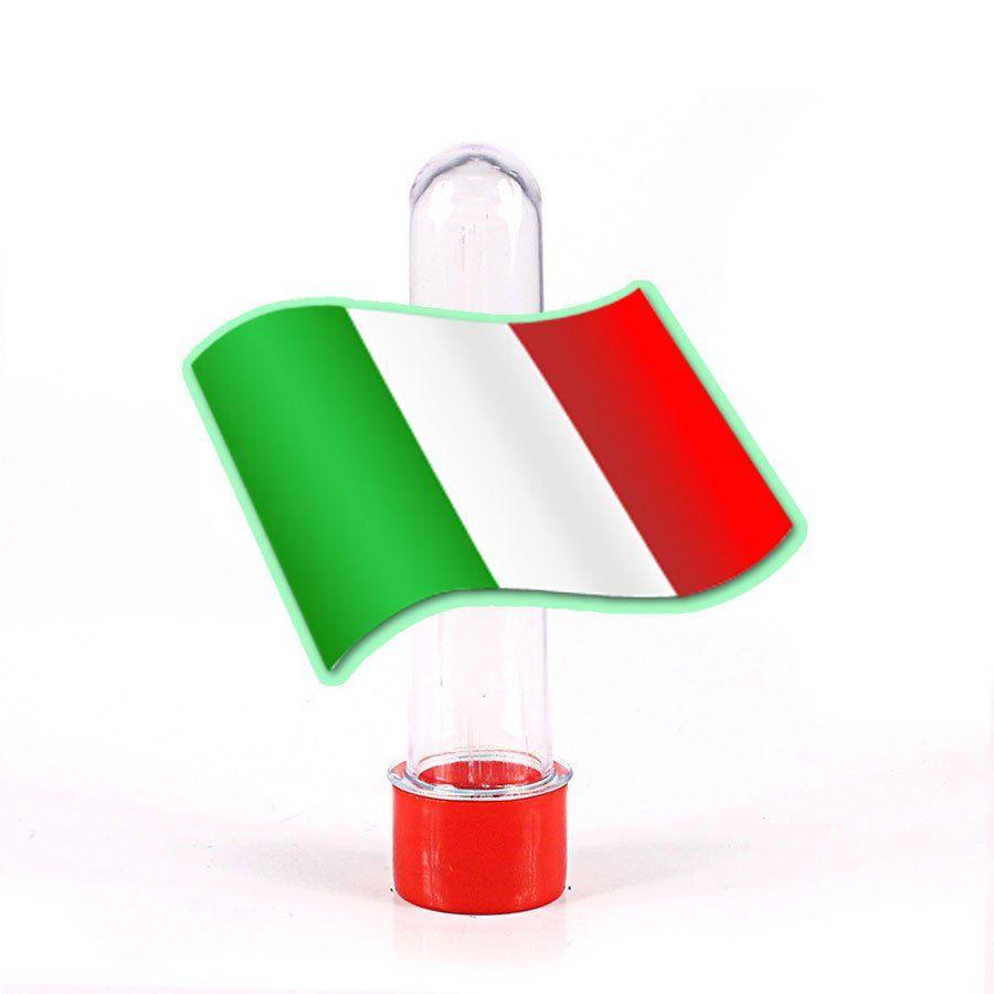 Lembrancinha Tubete Personagem Festa Italiana Bandeira