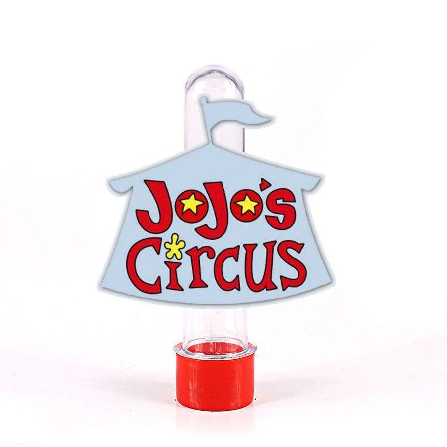 Lembrancinha Tubete Personagem Jojo´s Circus Logo