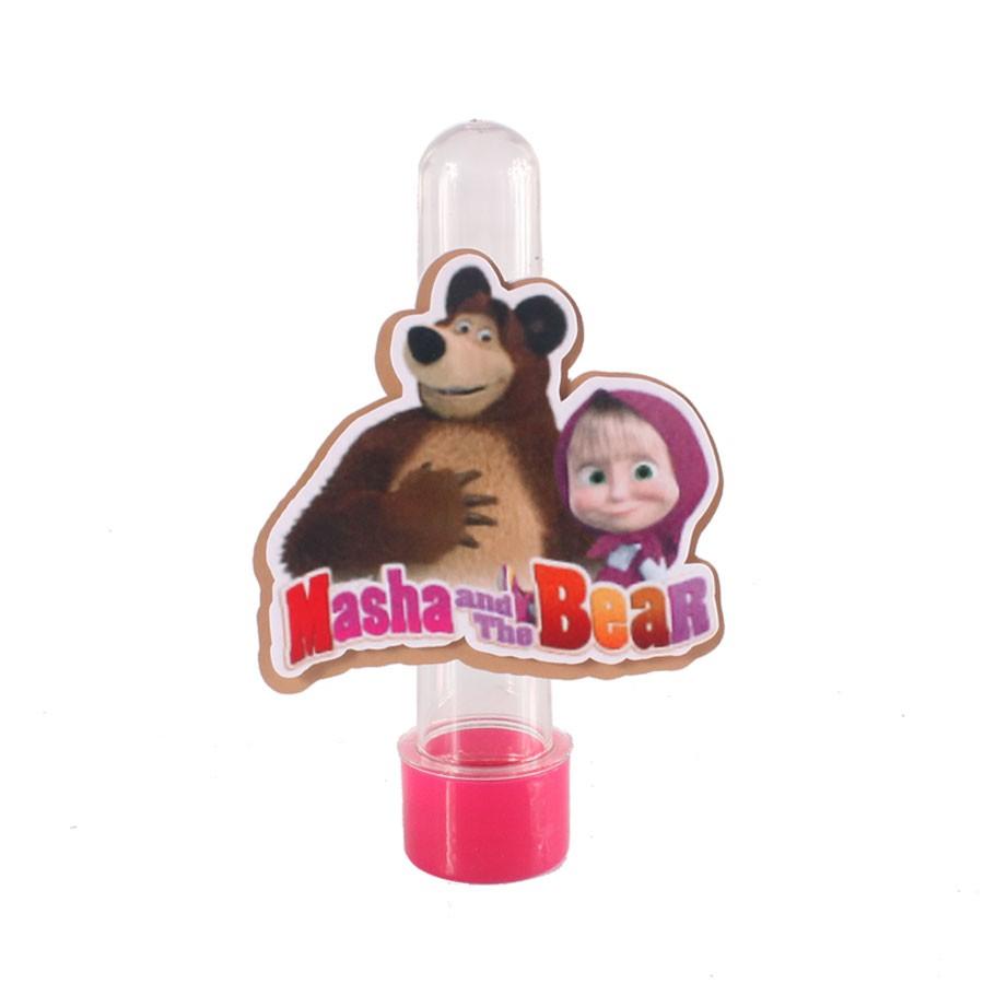 Lembrancinha Tubete Personagem Logo do Masha e o Urso