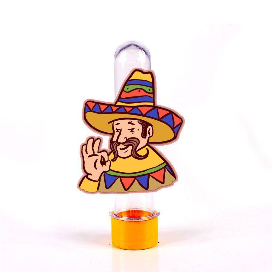 Lembrancinha Tubete Personagem Sombreiro Mexicano - Aluá Festas d214f9b1478