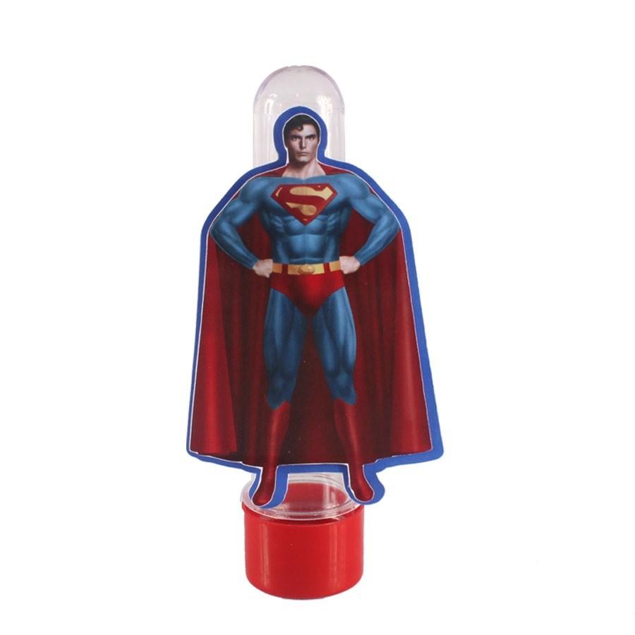 Lembrancinha Tubete Personagem SuperMan Adulto