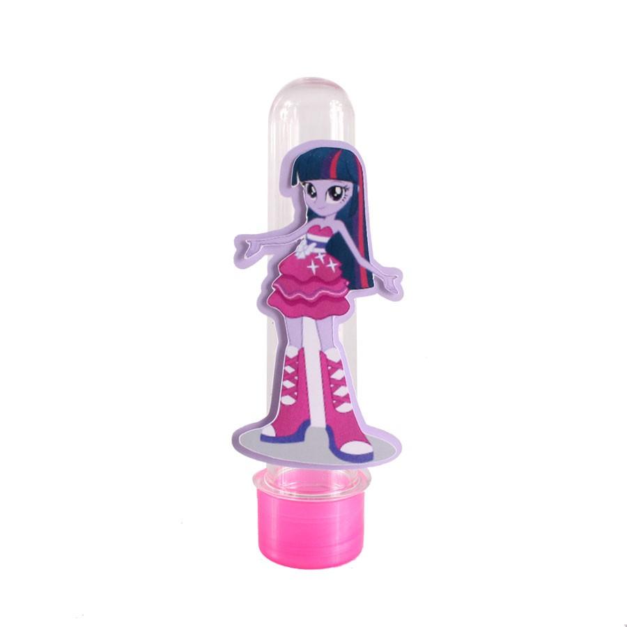 Lembrancinha Tubete Twilight Sparkle do Desenho Equestria Girls