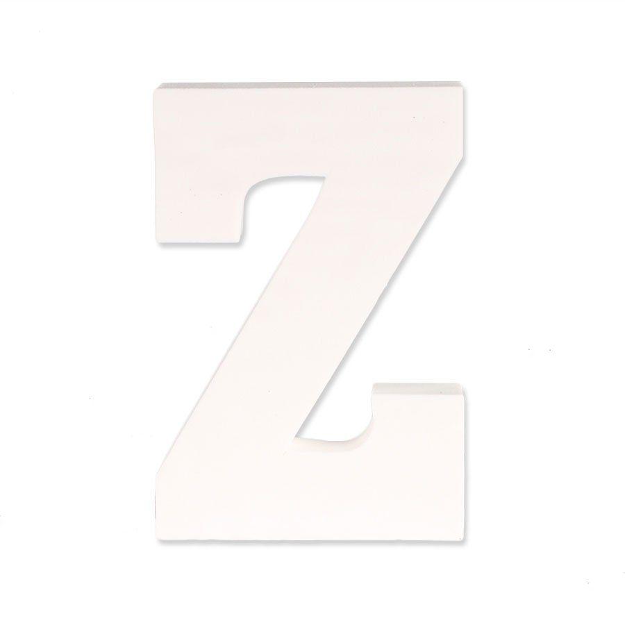 Letra Z em EVA Provençal Branca