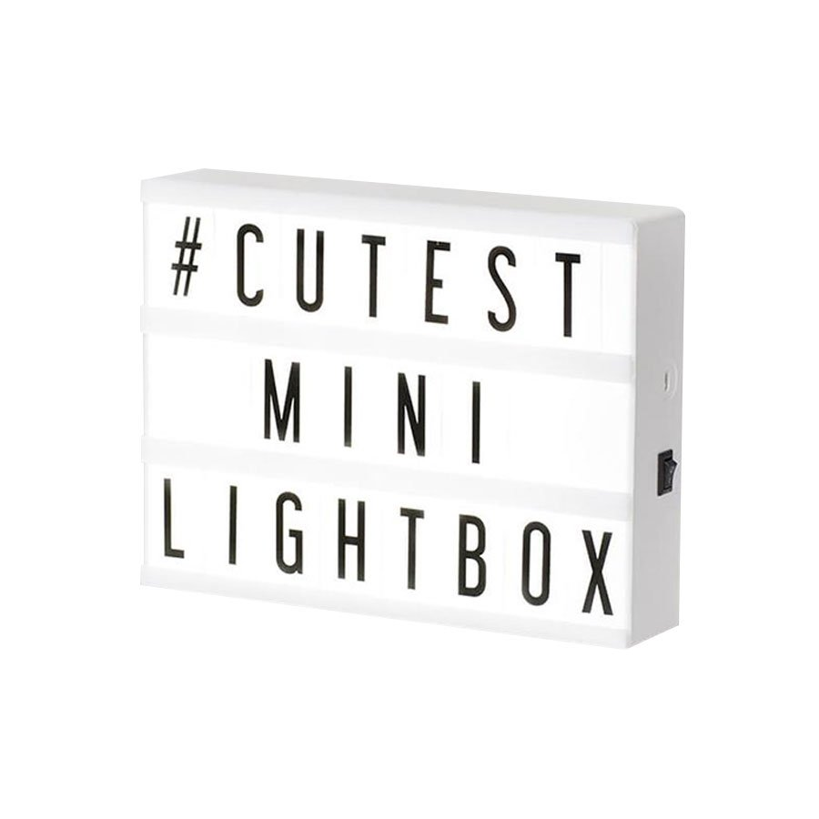 Luminária Mini LightBox Led 15cm