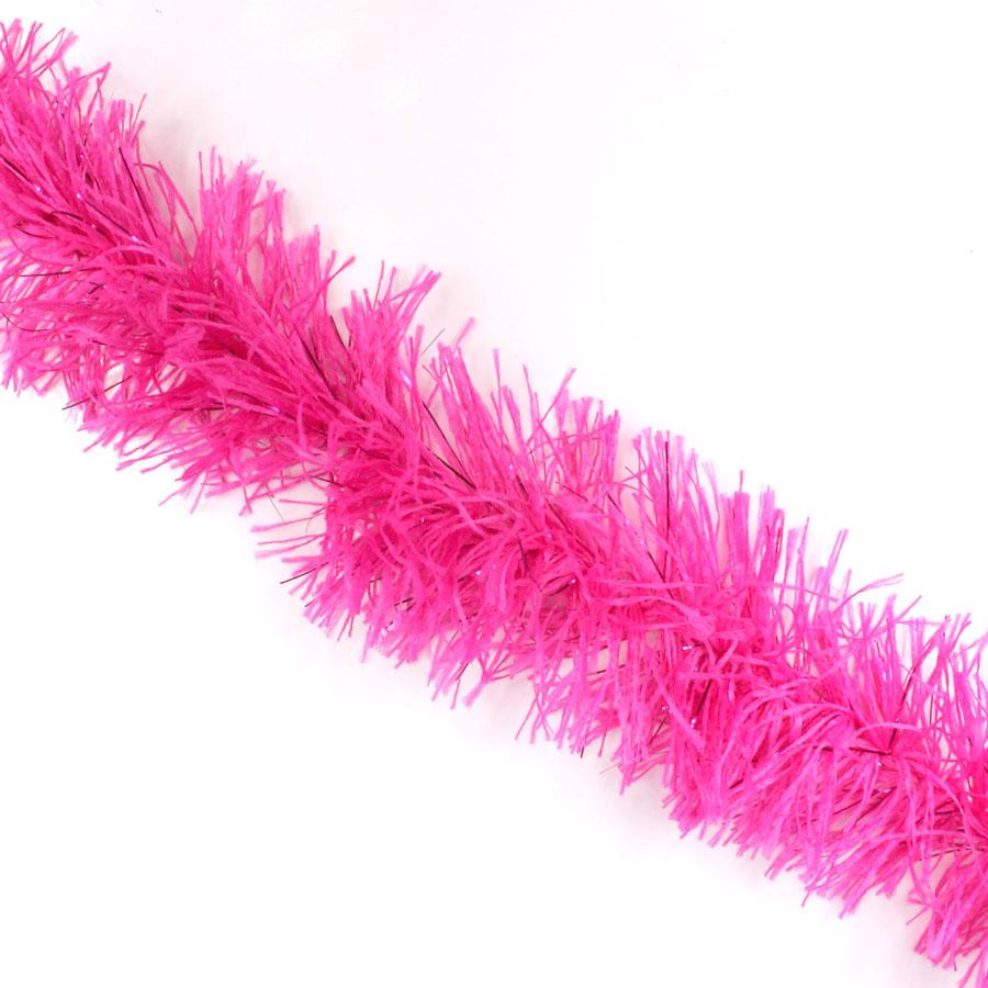 Marabu Sintético Pink com Fios Metalizados