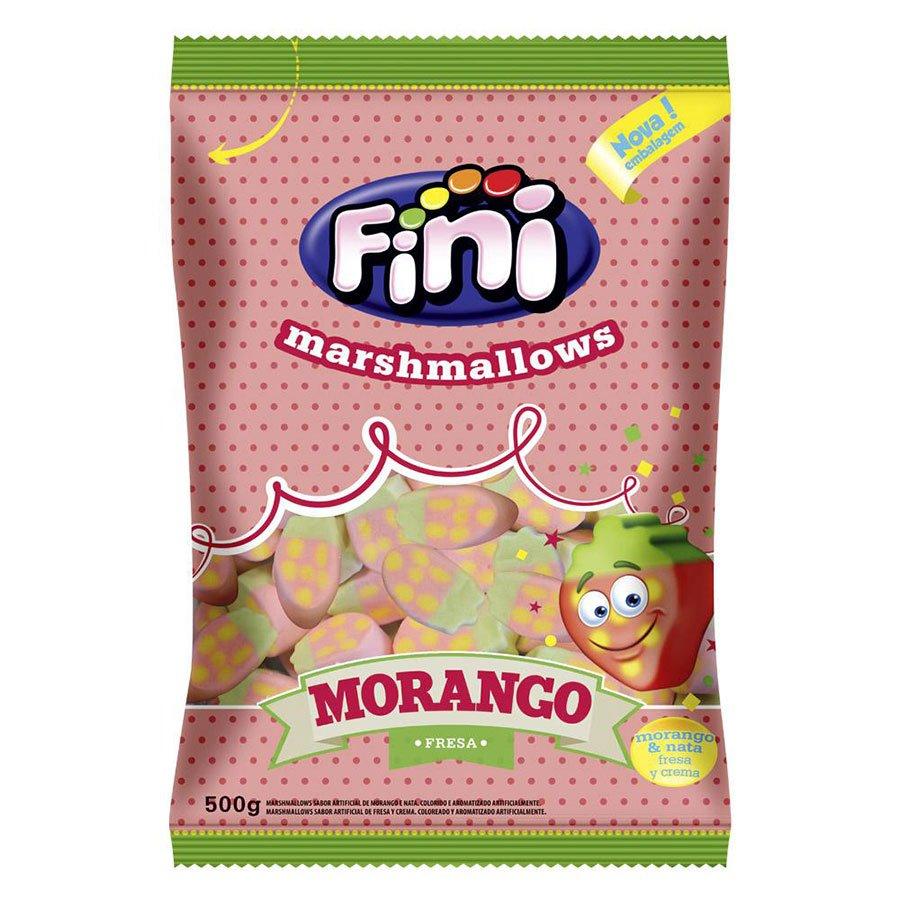 Marshmallow Morango 500g Fini