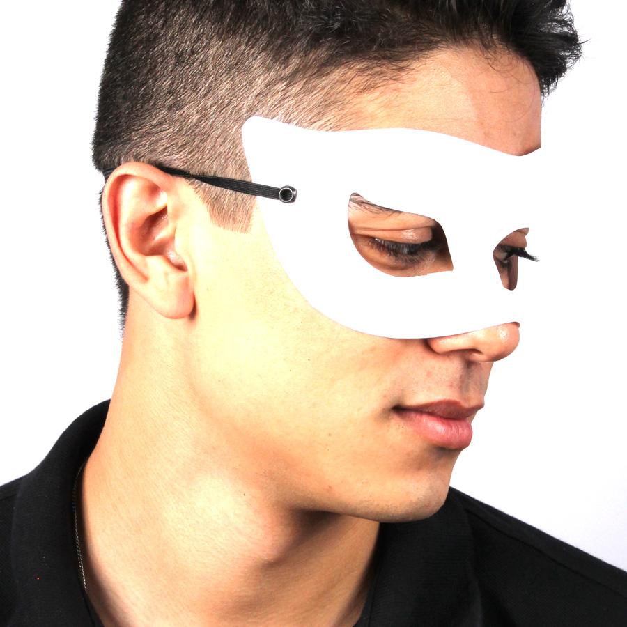 Máscara Branca Masculina