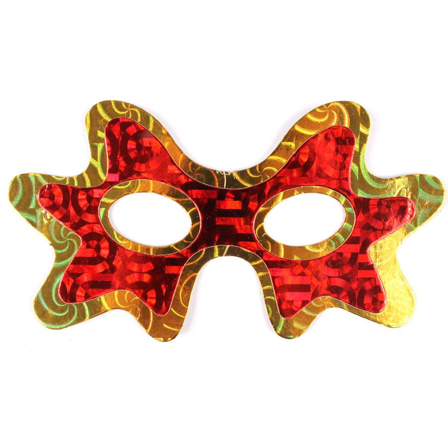 Máscara Holográfica Aranha - Cores Sortidas