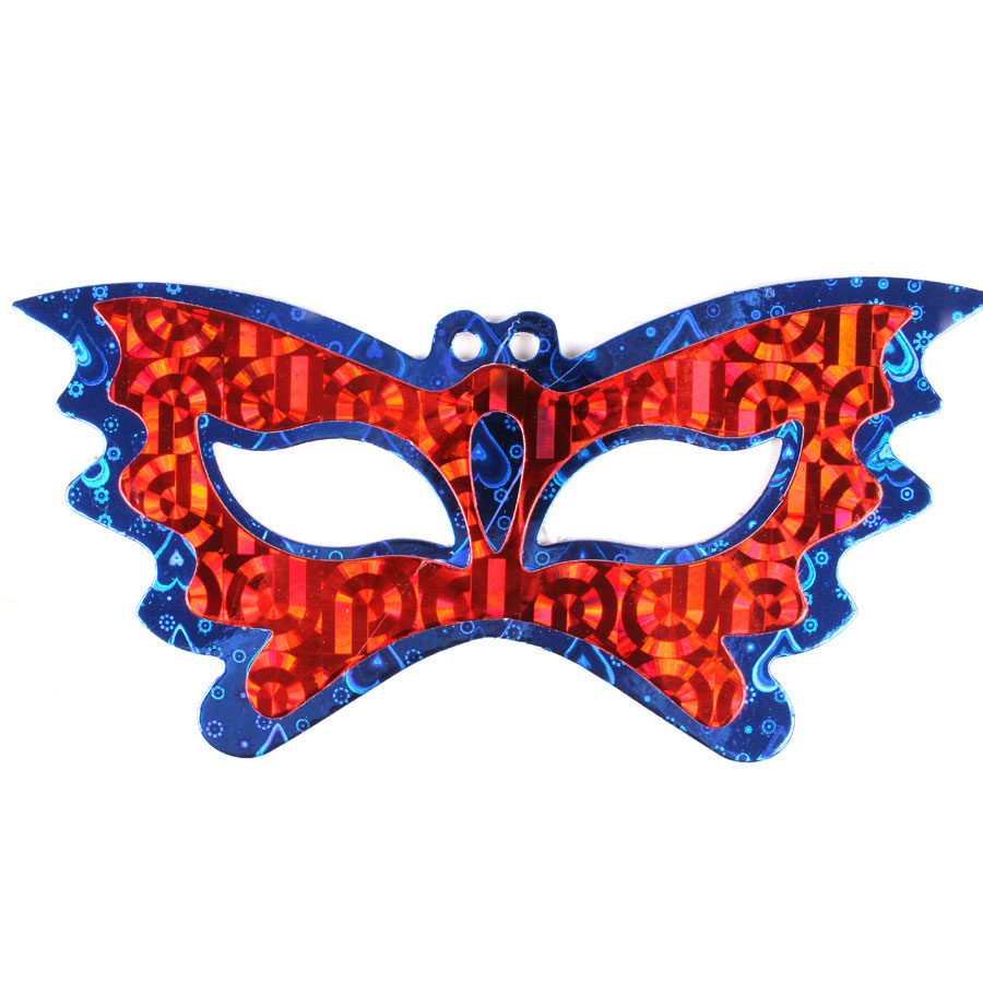 Máscara Holográfica Borboleta Sortidas