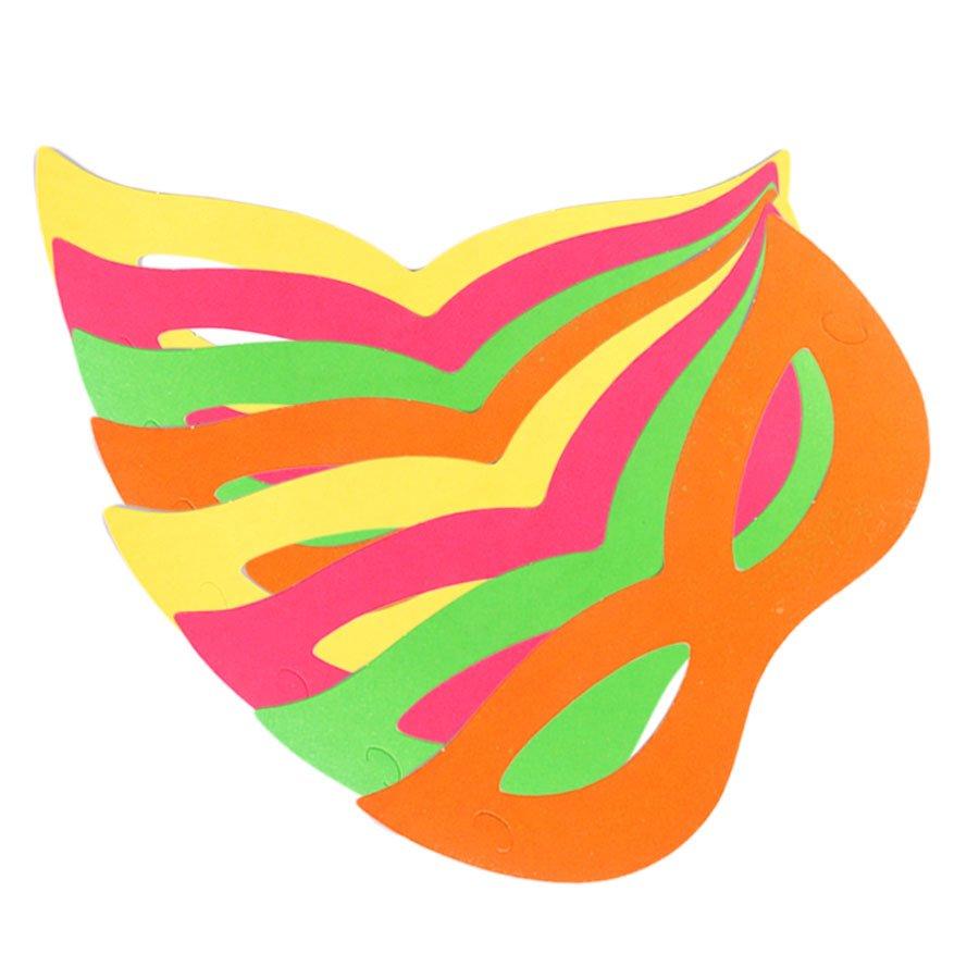 Máscara Holográfica Gatinha Metalizada Sortidas
