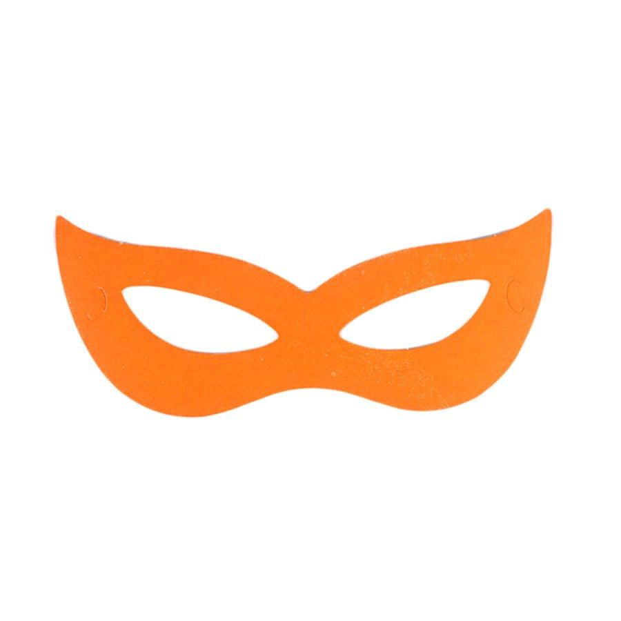 Máscara Gatinha Neon de Carnaval Cores Sortidas