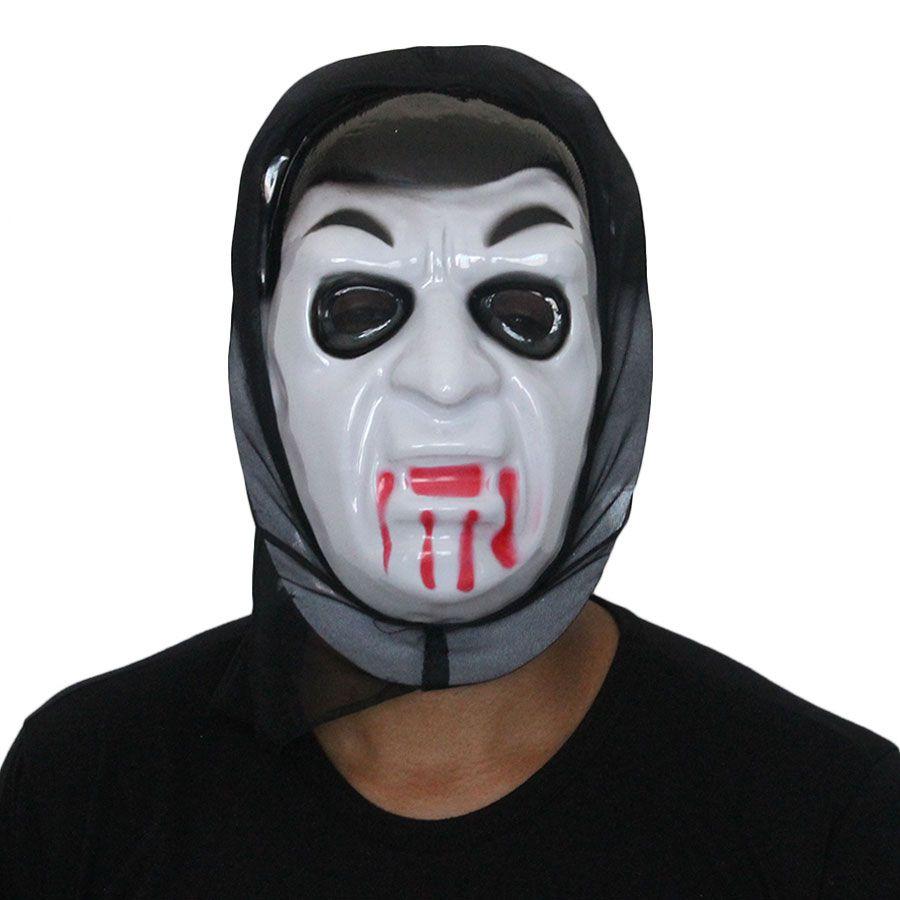Máscara Plástica Monstro Drácula