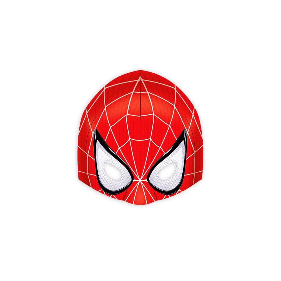 Máscara Espetacular Homem Aranha 6Un