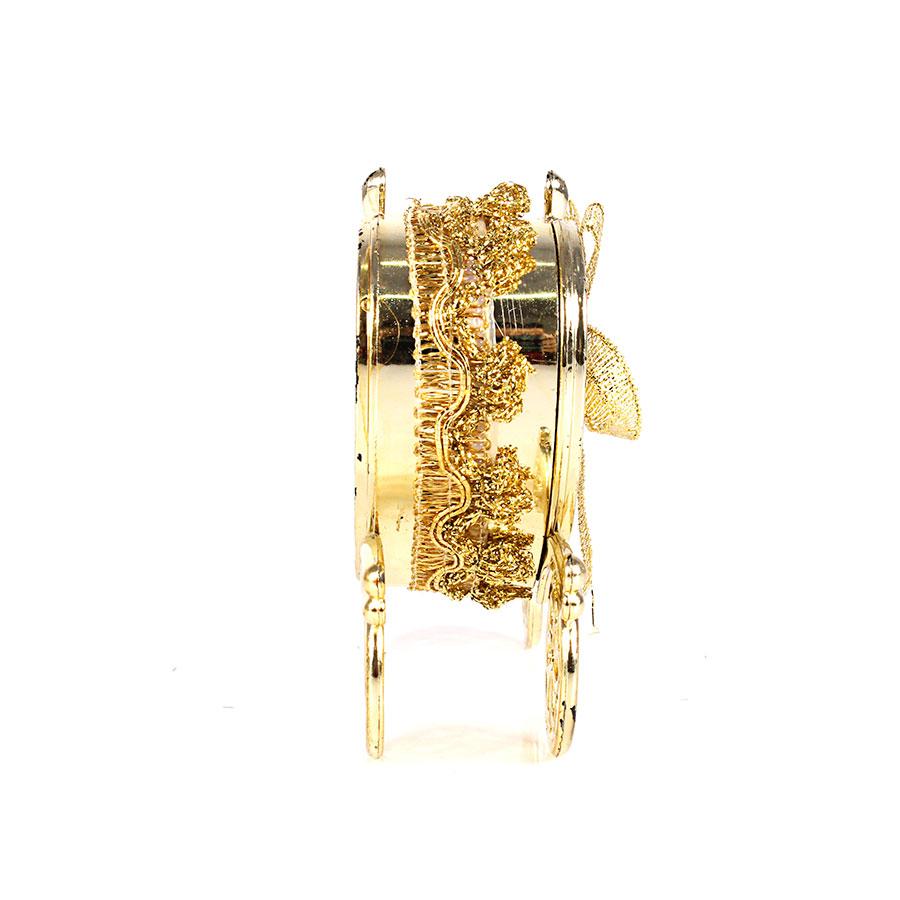 Mini Carruagem Dourada