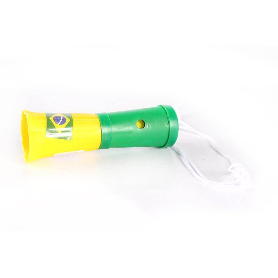 Mini Corneta Torcida do Brasil Copa 2018 12cm