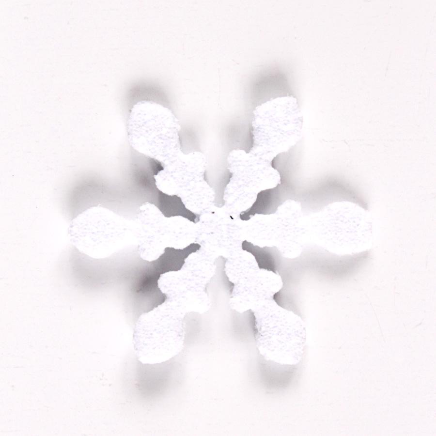 Mini Flocos De Neve Glitter 10Un
