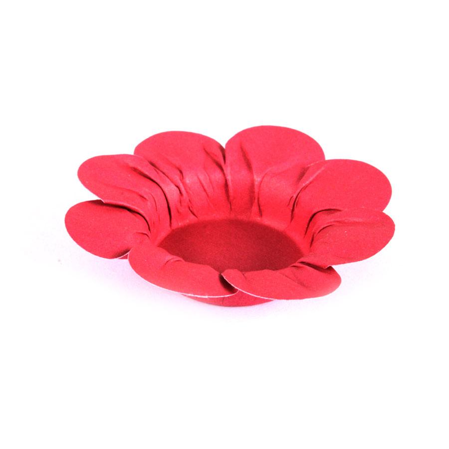 Mini Forminha Flor P/ Doces 50Un Pink