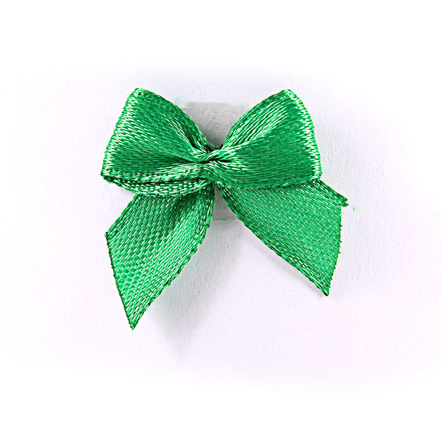 Mini Laço Gordinho Verde - 50Un