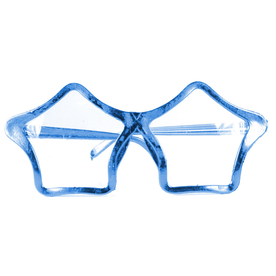 Óculos Chic Estrela Metalizado