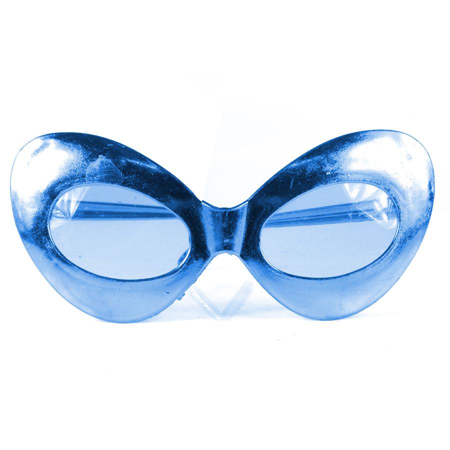 Óculos Gatinha Chic com Lente de Plástico - Cores Sortidas