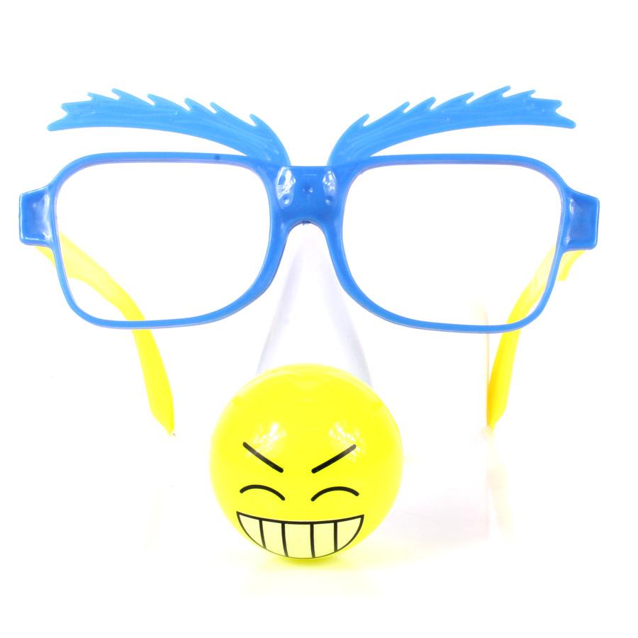 Óculos Com Nariz Led Pisca
