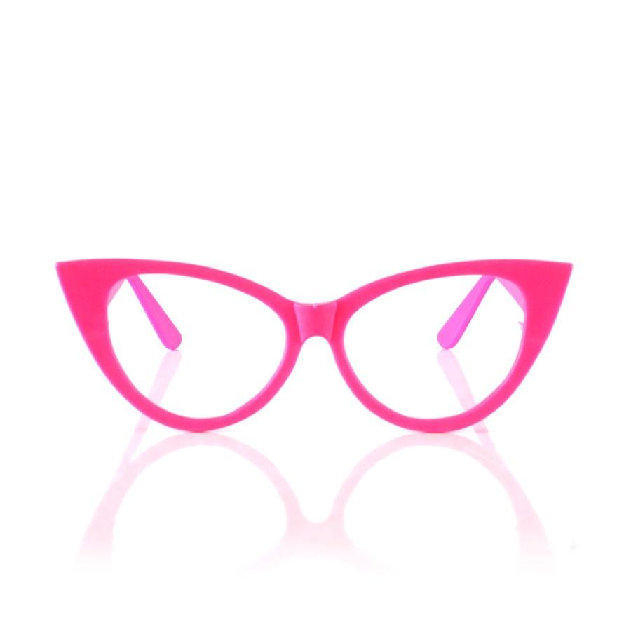 Óculos Gatinha Anos 60 - Aluá Festas 2b20a0a645