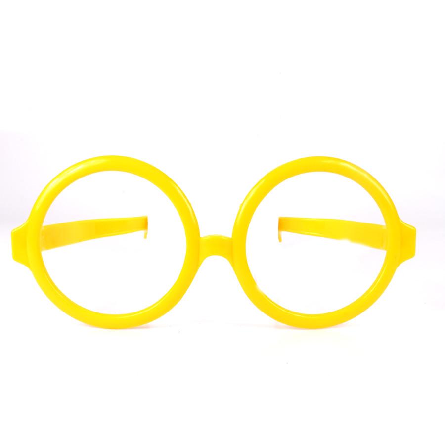 Óculos Gigante Redondo - Cores Sortidas