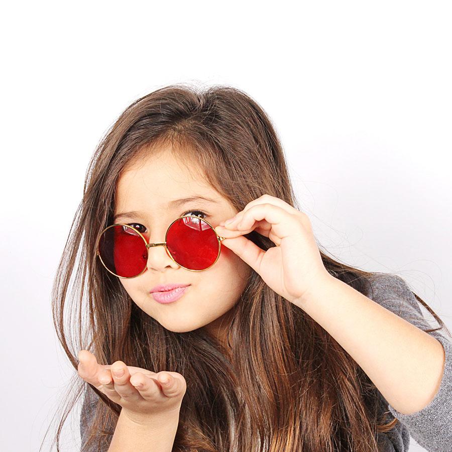 Óculos Hippie Luxo