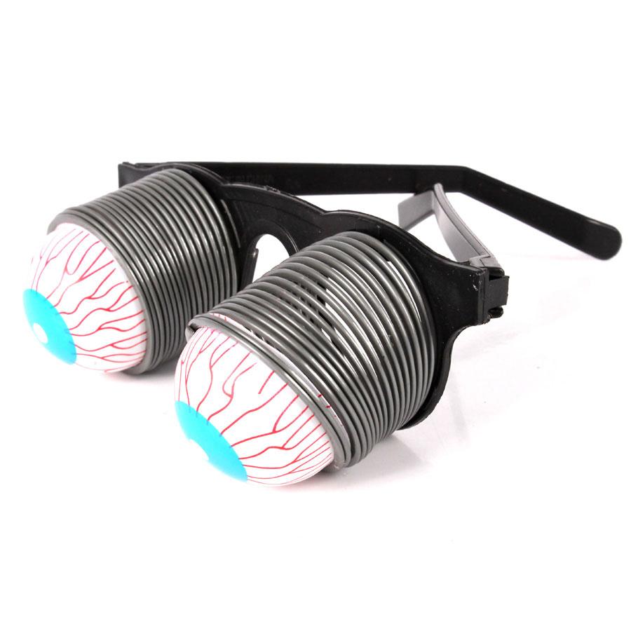 Óculos de Plástico com Olho de Mola