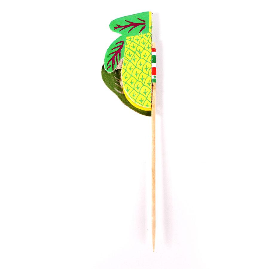 Palito Fruta Com 100 Unidades