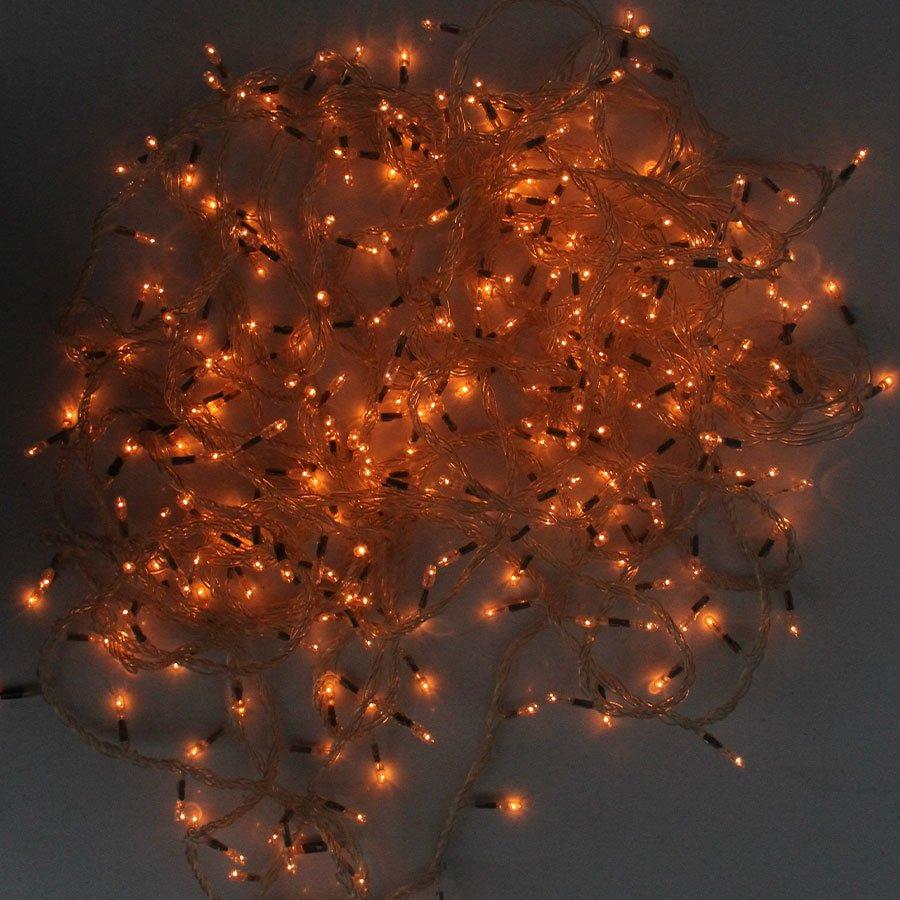 Pisca Pisca LED Branco Quente 127V - 12 Metros - Aluá Festas 4cf3402079
