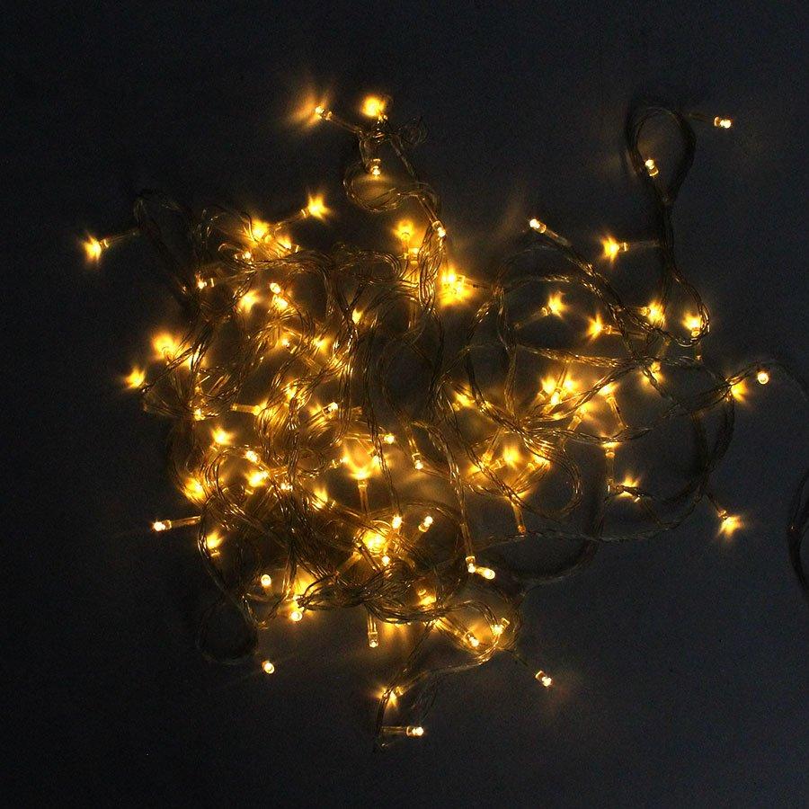 Pisca Pisca LED Branco Âmbar 127v - 8 Metros - Aluá Festas 73bc61c9f4
